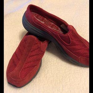 Easy Spirit Red Slip On Size 11